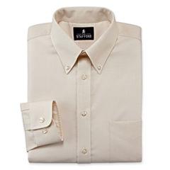 Stafford® Travel Wrinkle-Free Oxford Dress Shirt–Big & Tall