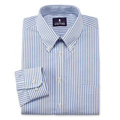 Stafford® Travel Wrinkle-Free Oxford Dress Shirt–Big & Tall