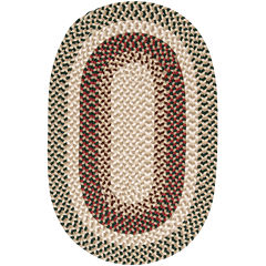 Colonial Mills® Plymouth Reversible Braided Indoor/Outdoor Oval Rug