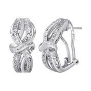 1/10 CT. T.W. Diamond Vintage Earrings