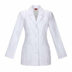 DICKIES WOMENS 29 IN LAB COAT