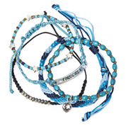 Decree® Moon and Star 5-pc. Bracelet Set