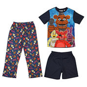 3-pc. Five Nights at Freddy's Pajama Set-Boys 4-10