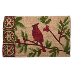Tag Cardinal Rectangular Doormat