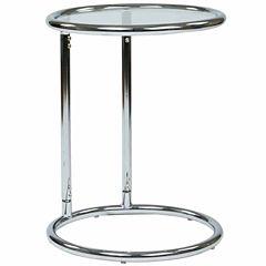 Yield Glass Circle Table