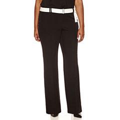 Worthington® Belted Wide Leg Trouser - Plus