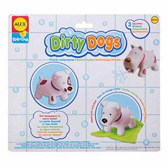 Alex Toys Rub A Dub Dirty Dogs 4-pc. Toy Playset