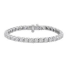 LIMITED QUANTITIES 7 CT. T.W. Diamond 14K White Gold Bracelet
