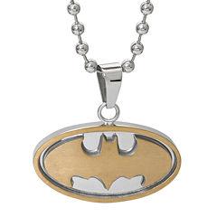 DC Comics® Stainless Steel Batman Pendant