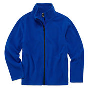 City Streets Boys Zip Fleece Jacket  Big Kid