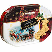 Walkers Shortbread Festive Shapes Cookie Tin