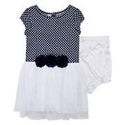 Marmelatta Short-Sleeve Dress - Baby Girls 3m-24m