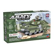 BricTek Army T-80-U Tank Building Set