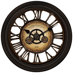 FirsTime® GearWorks Wall Clock
