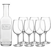 Luigi Bormioli Optima 7-pc. Wine Set