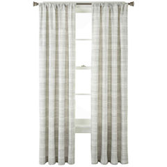 Home Expressions™ Wright Thermal Back Rod-Pocket Curtain Panel