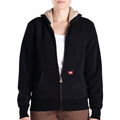 Dickies® Misses Sherpa Bonded Fleece Hoodie
