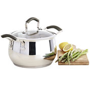 Epicurious® 4-qt. Stainless Steel Soup Pot with Lid