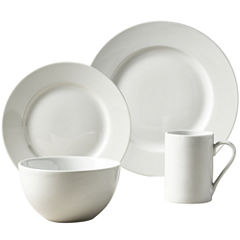 Tabletops Unlimited® Soleil Round Rim Porcelain 16-pc. Dinnerware Set