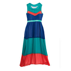 Rare Editions Sleeveless Maxi Dress - Big Kid Girls