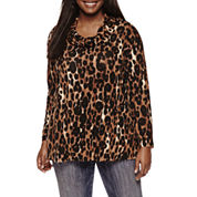Starscene Tunic Top Juniors Plus