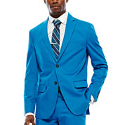 JF J. Ferrar® Mykonos Blue Stretch Sport Coat - Slim Fit