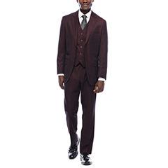 Steve Harvey® Merlot Suit Separates