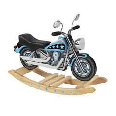 KidKraft® Rocking Motorcycle - Star Studded