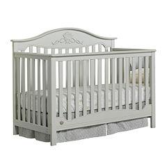 Fisher-Price Mia Misty-Grey Convertible Crib