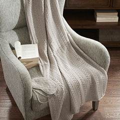 Madison Park Signature Cashmere Bld Travel Set Throw