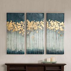Madison Park Midnight Forest 3-pc. Canvas Art