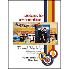 Scrapbook Generation - Sketches for Scrapbooking: Travel 1