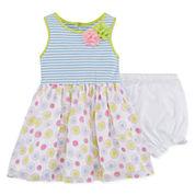 Marmellata Sleeveless Striped Dress - Baby Girls 3m-24m
