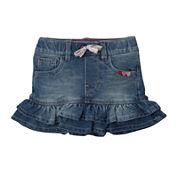 Levi's® Terry Denim Skirt Baby Girls 3m-9m