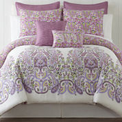 Roselle Lilac 5-pc. Comforter Set & Accessories