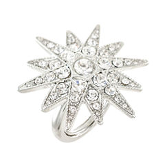 KJL by KENNETH JAY LANE Crystal Starburst Ring