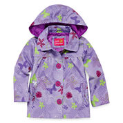 Pink Platinum Rain Jacket - Toddler Girls 2t-4t