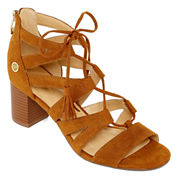 Liz Claiborne Tacey Womens Heeled Sandals