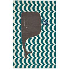 Mohawk Home® Oh Whale Rectangular Rug