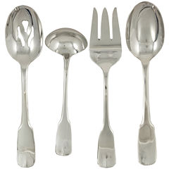 Ginkgo® Alsace® 4-pc. 18/10 Stainless Steel Hostess Set