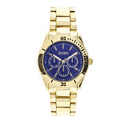 Decree® Womens Chronograph-Look Bracelet Watch