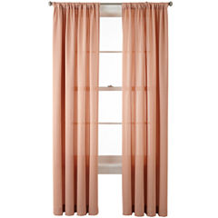 Liz Claiborne® Ainsley Rod-Pocket Curtain Panel