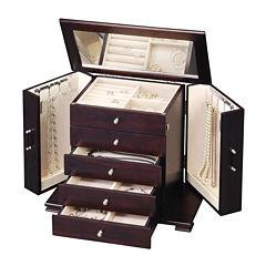 Java Classic 4-Drawer Jewelry Box