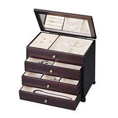 Java 3-Drawer Jewelry Box