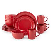 JCPenney Home™ Stoneware 16-pc. Dinnerware Set