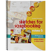 Scrapbook Generation Sketches Volume 6