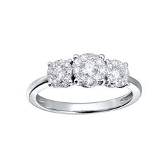 Brilliant Dream™ 1/2 CT. T.W. Diamond 3-Stone Engagement Ring