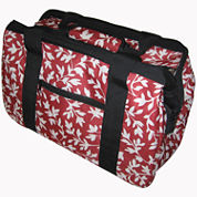 JanetBasket Red Floral Eco Bag