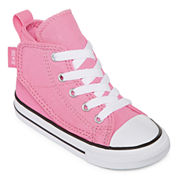 Converse® Chuck Taylor All Star Girls High-Top Sneakers - Toddler
