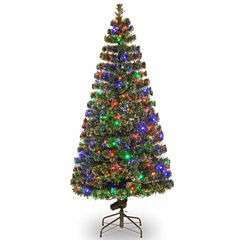National Tree Co. 6 Foot Evergreen Pre-Lit Christmas Tree